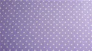 Purple with White 0.5cm Spot Cotton Fabric