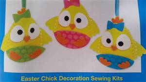 Easter Chick Decoration Kit