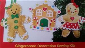 Gingerbread Penguin Decoration Kit