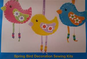 Spring Bird Decoration Kit