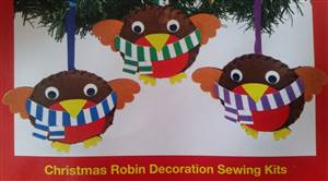 Christmas Robin Decoration Kit