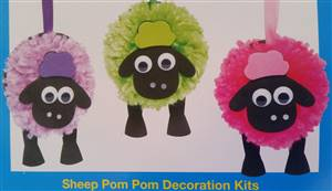 Sheep Pom Pom Kit