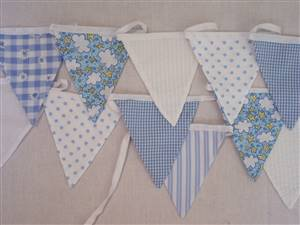 Yellow/Greens Mini Bunting Kit 3M