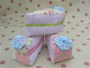Slice of Cake Patchwork Pin Cushion Kit