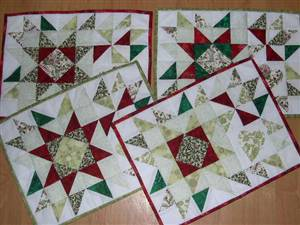 Tablemat Set Pattern