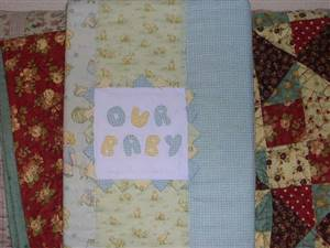 SALE. A4 size Baby Book Cover