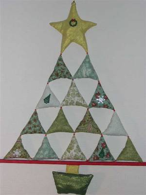 Christmas Tree Hanging Ornament Pattern