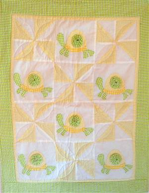 Timmy Turtle Pram Throw/Coverlet