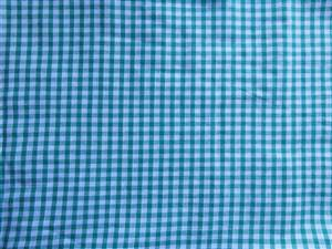 Green 100% Cotton Gingham
