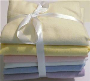6 Fat Quarter Cotton Flannel Bundle