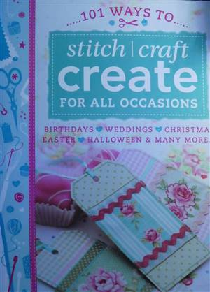 101 Ways to Stitch/craft Book