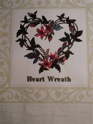 Balitmore Block- Heart Wreath