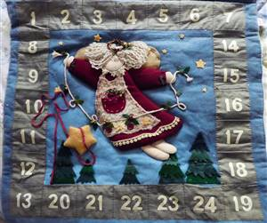 Advent Calender Ex sample Hanging