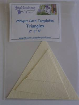 Card Templates- Triangles