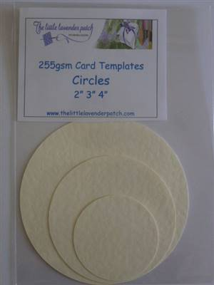 Card Templates- Circles