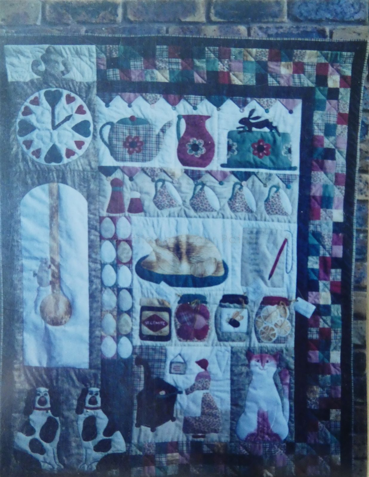 Granny\'s Country Kitchen, Pattern. The patchwork angel. 41\
