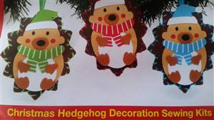 Hedgehog Tree Decoration Kit