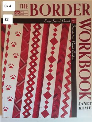 Bk 4  The Border Workbook Book