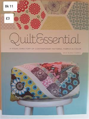 Bk11 Quilt essential Book