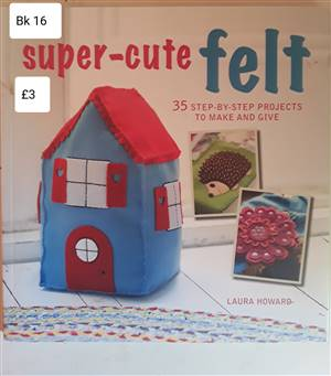 Bk 16  Super cute Felt Book