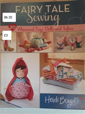 Bk 20  Fairy tale sewing Book