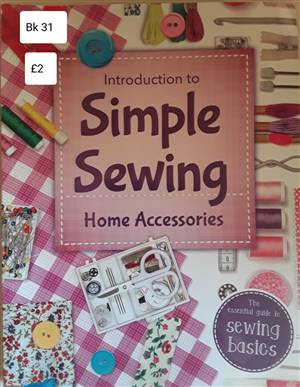 Bk 31  Simple sewing home accessories Book