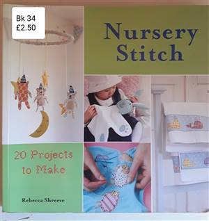 Bk 34  Nursery stitch Book