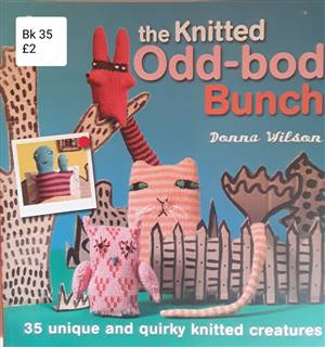 Bk 35  The knitted odd bunch Book