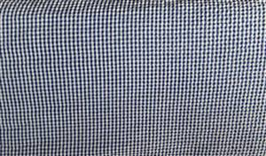 "56"" Navy Blue small Check Seersucker Check Fabric"