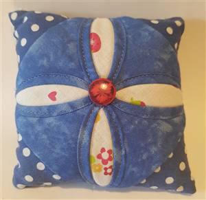 Cathedral Window Patchwork Pin Cushion Kit
