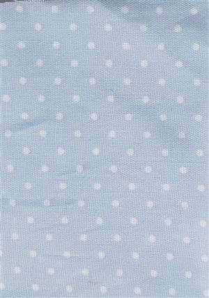 Dusky blue Cotton Fabric 56""