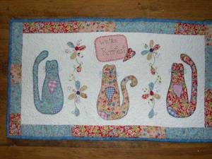Cat Wallhanging Pattern