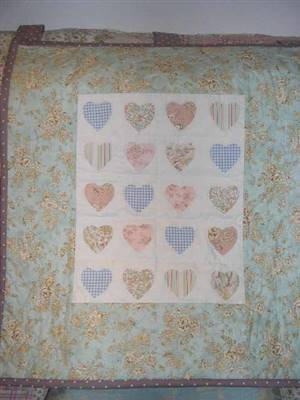 SALE.Small Heart Wallhanging