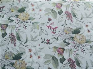 "Orchid Floral Fabric  60"" wide"