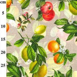 Cotton Fruity Canvas Fabric. 56""