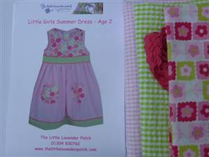 Girls age 2 Dress Pattern