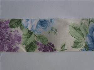 """Floral Stiffened Fabric Trimming 2"""""""