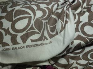 "John Kaldor Stretchy Jersey Type Fabric.  68"" x 2.5M"